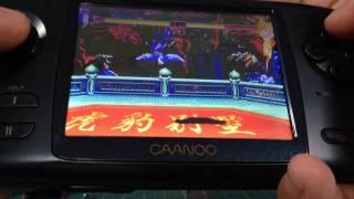 "CAANOO PSP Joystick Test - Street Fighter2 """