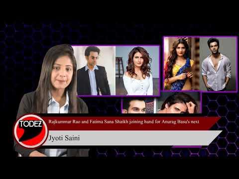 Fatima Sana Shaikh joins Rajkummar Rao for Anurag Basu's film Mp3