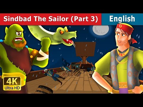 Sinbad The Sailor (Part 3) In English | Stories For Teenagers | English Fairy Tales