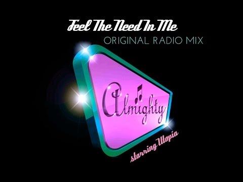 Utopia - Feel The Need In Me (Original Radio Mix)