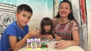 Наводим красоту и ухаживаем за питомцами LEGO! Лего Садик для щенков! Видео обзор на русском ★MGM★(Ссылка на набор LEGO