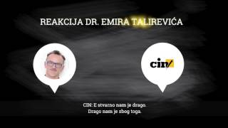 Reakcija dr.  Emira Talirevića