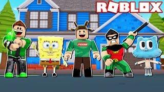 BECOME SPONGEBOB, TEEN TITANS, GUMBALL, & MORE IN ROBLOX! (Roblox Cartoon Tycoon 2)