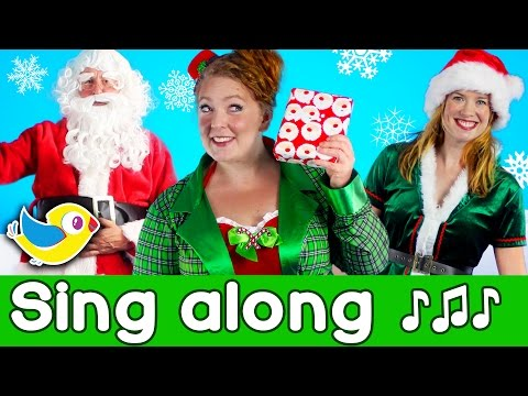 Sing Along - Santa's Coming - Kids Christmas Song with lyrics