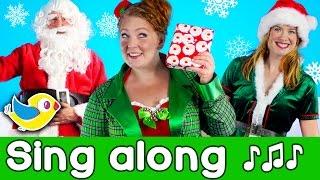 Sing Along - Santa's Coming - Kids Christmas Song with lyrics