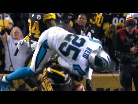 Eric Reid Ejected After Late Hit on Ben Roethlisberger & Fight | NFL