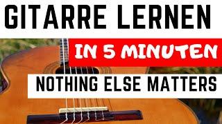 ★ Gitarre in 5 Minuten ► DAS kann Jeder! ► Zeig