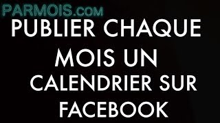 Tuto Zapier : publier automatiquement le calendrier du mois prochain sur Facebook