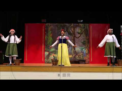 SNOW WHITE performance PART 1 Fairfield Magnet School for Math and Science