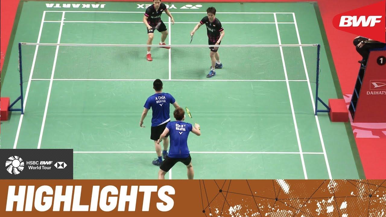 Daihatsu Indonesia Masters 2020 Semifinals Md Highlights