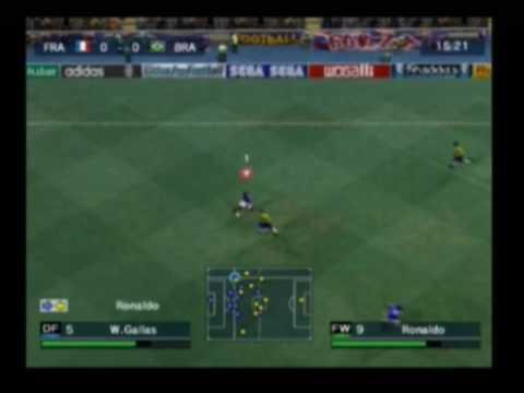 Virtua Pro Football [Playstation 2] Gameplay Part 1
