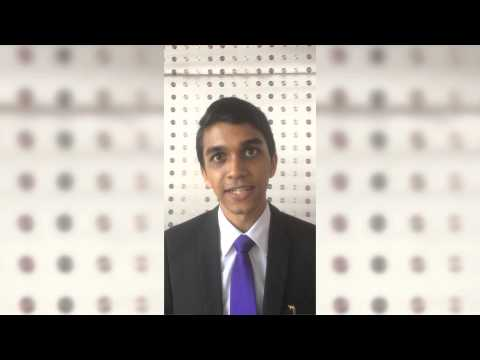 A.H.T Eranga De Silva, Asia-Pacific Speak Out for Engineering competition 2014