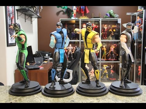 Mortal Kombat Statues From Pop Culture Shock