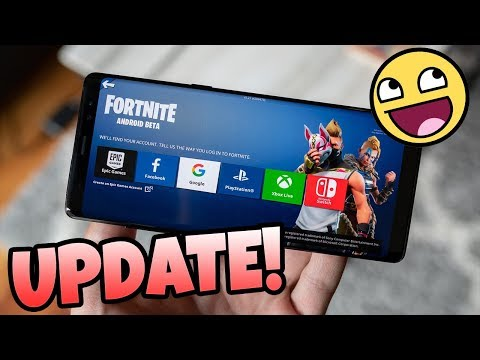 Update Of Fortnite Android App!