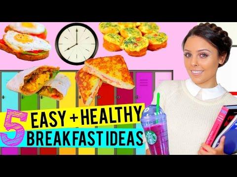 BACK TO SCHOOL: 5 Easy + Healthy Breakfast Ideas for School!   Kristi-Anne Beil