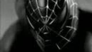 spiderman black 3 speed painting in photoshop 7