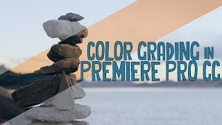 Color Grading in Premiere Pro CC
