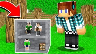 ESCONDE-ESCONDE COM DISFARCE DE UM BLOCO DE PEDRA NO MINECRAFT !! - ( Minecraft Esconde-Esconde )