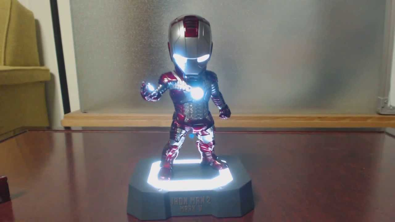 Mini Iron Man Mark 5 EGG ATTACK