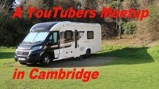 Cherry Hinton Caravan and Motorhome Club Site | YouTubers Meetup - Ep097