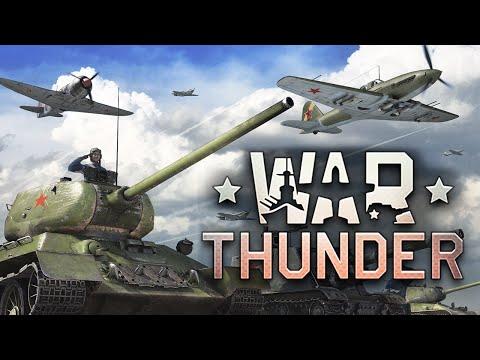 War Thunder - Самолеты vs Танки (Первый Взгляд)