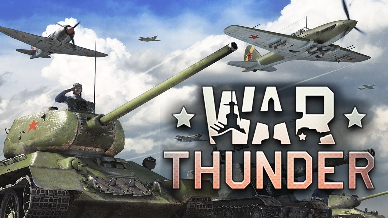 war of thunder видео