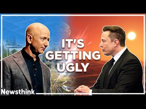 Elon Musk vs. Jeff Bezos: It's Getting Ugly