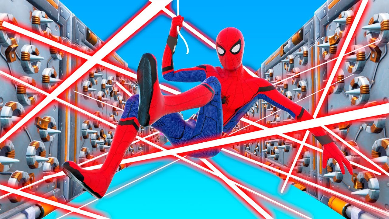 Download Playing Fortnite as SPIDERMAN! (Impossible Deathrun)