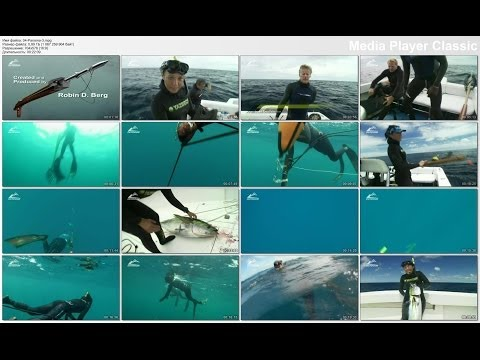 Подводная охота на тунца часть2 Spearfishing tuna part2