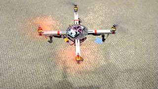 Robodub: Patented telescopic morphing drone