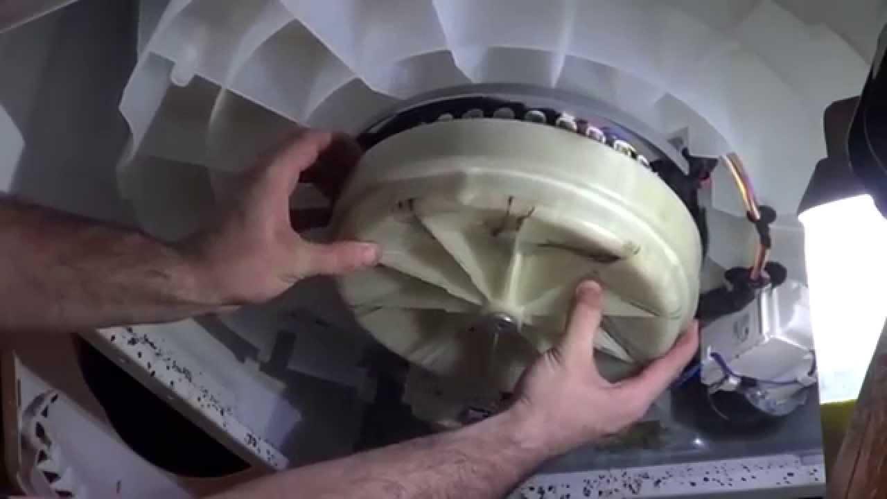 replace washing machine bearings (Kenmore, Maytag, Whirlpool)  YouTube
