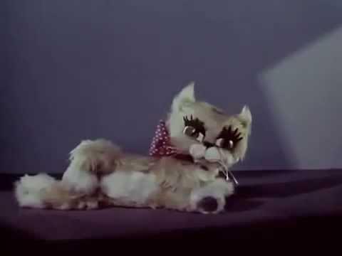Мультфильм кот и карандаш