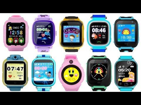 Топ 10 детских умных часов с Gps на Алиэкспресс  Детские смарт часы Smart Baby Watch с трек