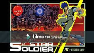 Star Soldier Music Famicom WOW