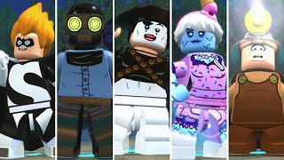 All Playable Villains in LEGO The Incredibles + Super Moves
