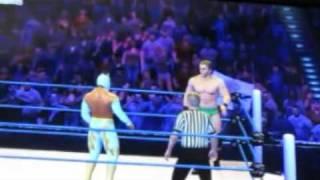 WWE 12- Como hacer una mistica EFECTIVA (Sin Cara vs Ted Dibiase)