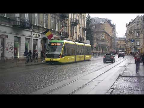 Straßenbahn in Lemberg