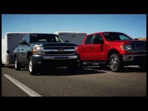 """► 2011 Ford F-150 EcoBoost """"Head to Head"""" Towing Competition"""