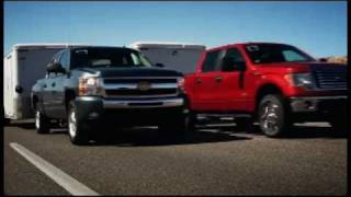 "► 2011 Ford F-150 EcoBoost ""Head to Head"" Towing Competition"