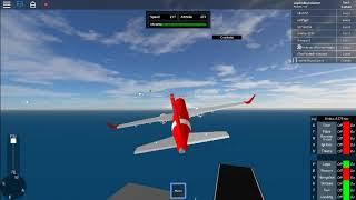 roblox sfs flight simulator | red - white