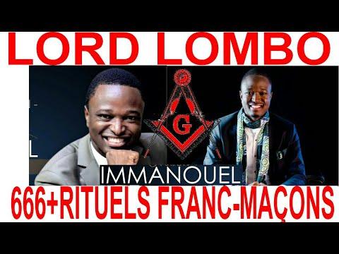 LORD LOMBO SATANISTE??? 666 RITUEL FRANC MAÇON, MK ULTRA