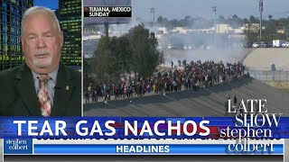 Is Tear Gas A Nacho Topping