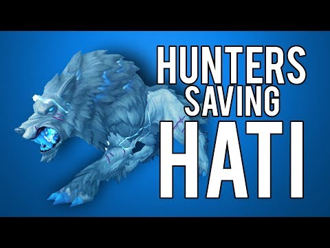 Hunters Want To Save Hati  WoW Legion 73