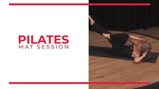 Pilates Mat Session | Walk At Home Fitness Videos