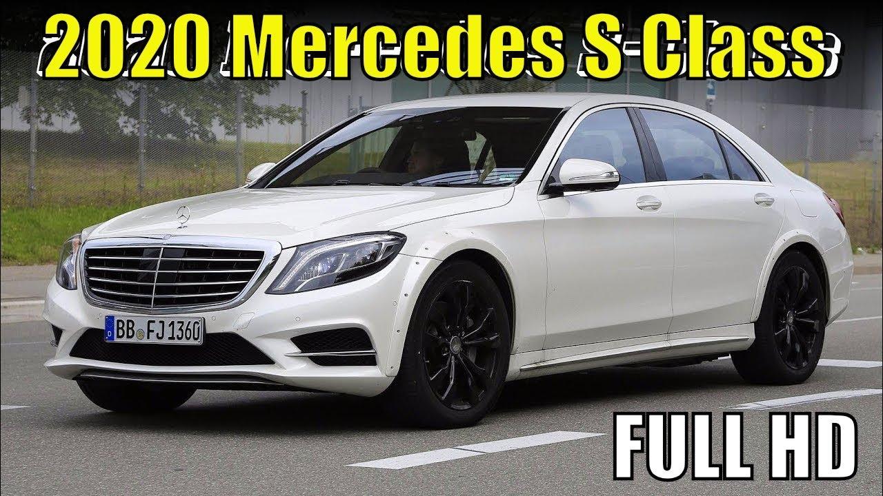 Mercedes S Class 2020 New 2020 Mercedes Benz S Class Spied Review