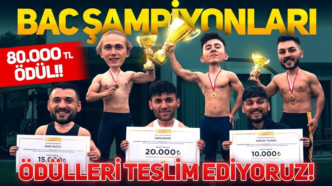 BAC YARIŞMASINI KAZANANLARI EVİMİZE DAVET ETTİK! | 80.000 TL ÖDÜL!