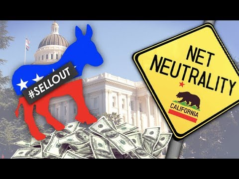 California Democrats Quietly Watering Down State Net Neutrality Bill
