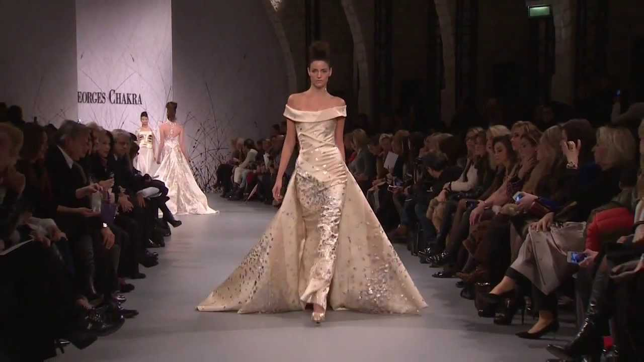 48b25159a27d Georges Chakra new HC collection for Spring Summer 2014 - YouTube