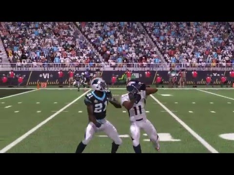 Super Bowl 50: Carolina Panthers vs. Denver Broncos Madden 16 Simulation