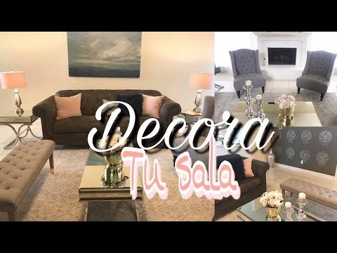 IDEAS PARA DECORAR TU SALA ELEGANTE Y BONITA  YouTube